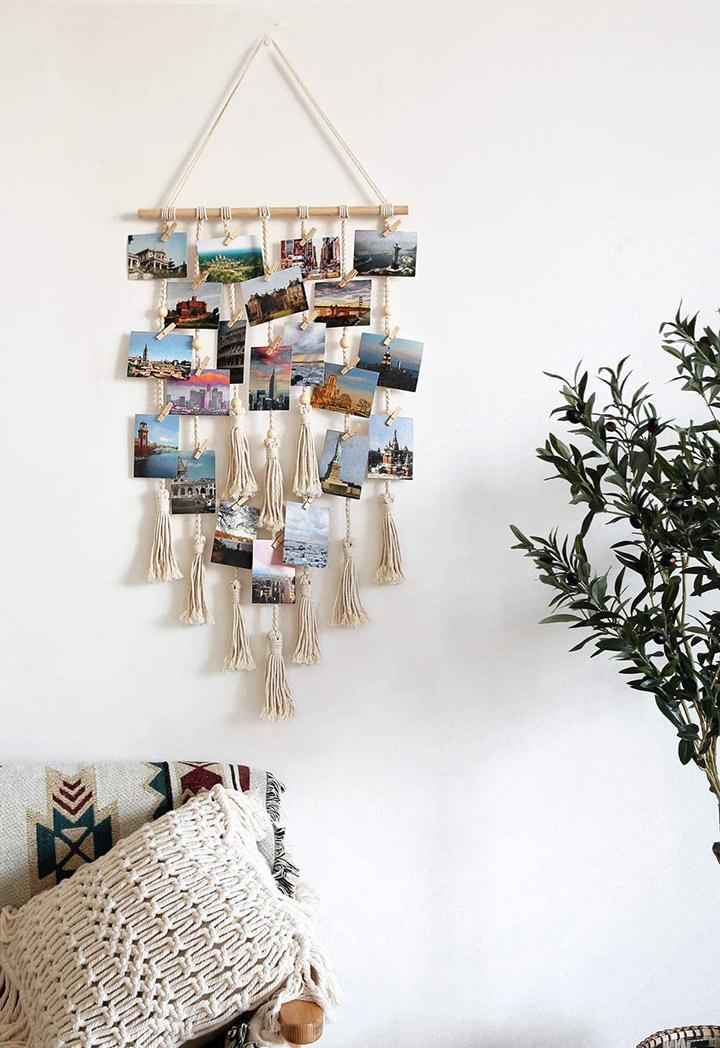 Decorar paredes con fotos personales