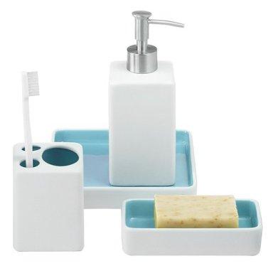 C mo decorar el ba o con accesorios y t xtiles decorar hogar - Utensilios bano ...
