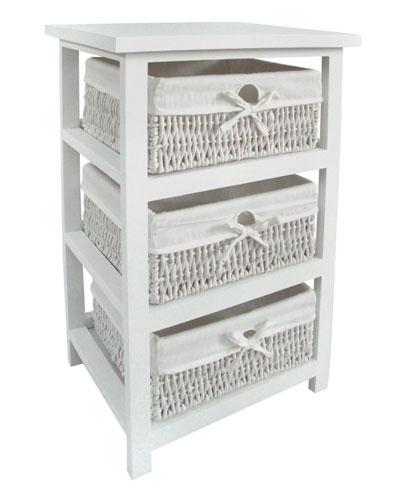 C mo decorar el ba o con accesorios y t xtiles decorar hogar for Muebles con cestas