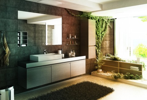 8 ideas para decorar el baño de forma natural - Decorar Hogar