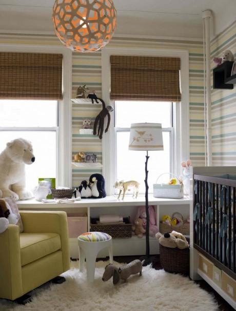decorar con rayas habitacion