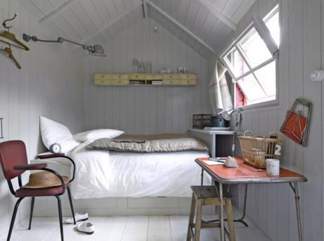 20 ideas para decorar habitaciones peque as decorar hogar for Super small bedroom design