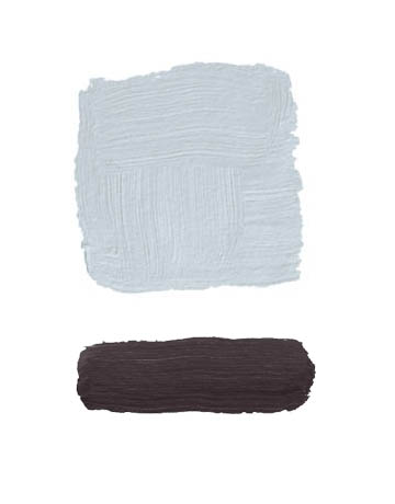 Combinaciones color gris y caoba