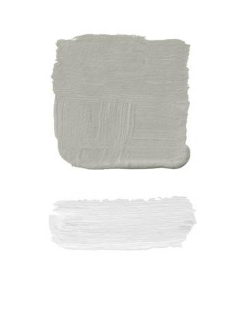 Combinaciones color gris y lavanda
