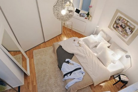 20 ideas para decorar habitaciones peque as decorar hogar - Camera matrimoniale 10 mq ...