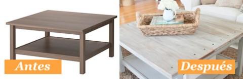 Modificacion mesa lack ikea decorar hogar - Ikea mesa lack blanca ...