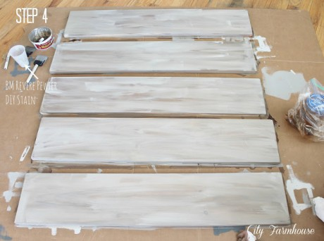 Pintar tablones mesa lack