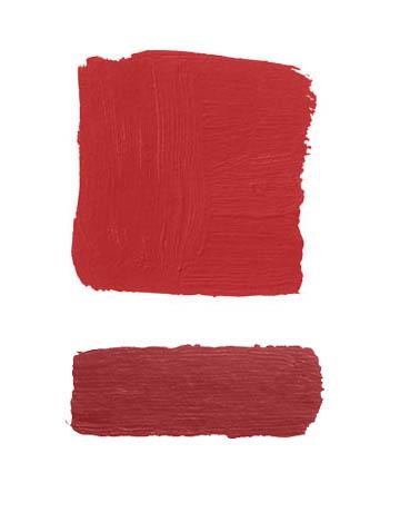 Combinacion color rojo y rojo
