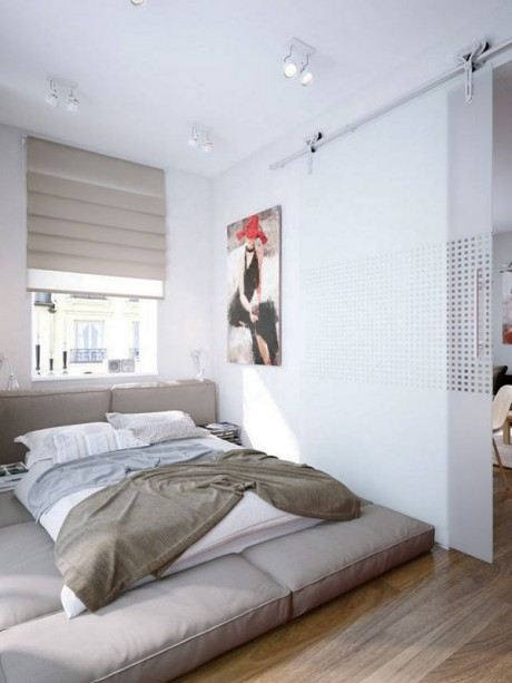 20 ideas para decorar habitaciones peque as decorar hogar for Cool small bedroom designs