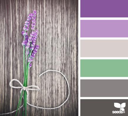 Colores que combinan violeta decorar hogar - Combina colores en paredes ...