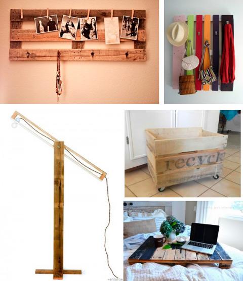 Decorar con palets de madera ideas y ejemplos decorar - Madera para decoracion ...