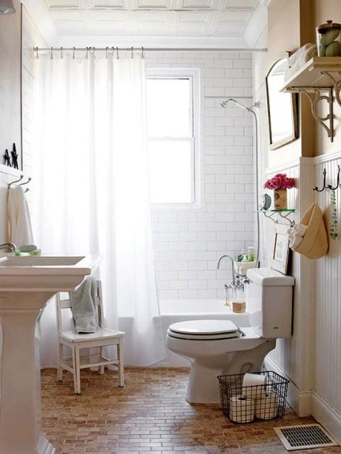 Ideas Para Decorar Baños Muy Pequenos:20 ideas para decorar baños pequeños – Decorar Hogar