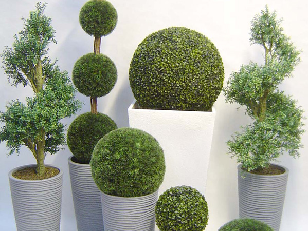decorar con plantas artificiales decorar hogar