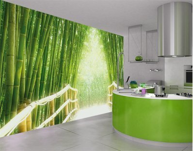 Decorar paredes con fotomurales decorar hogar for Fotomurales para cocinas