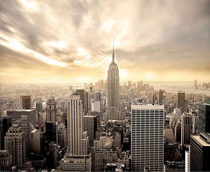 Fotomural de la ciudad de Nueva York