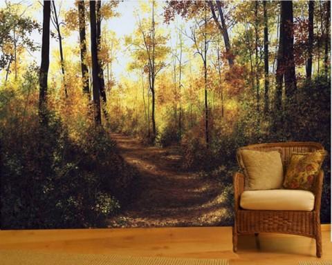 Fotomurales de naturaleza decorar con fotomurales decorar hogar - Ikea tapisserie murale ...
