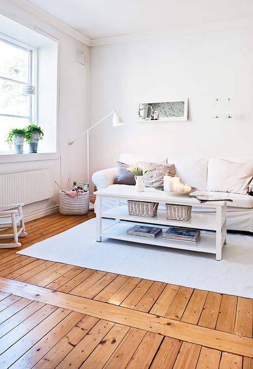 Ideas de salones con encanto escandinavo