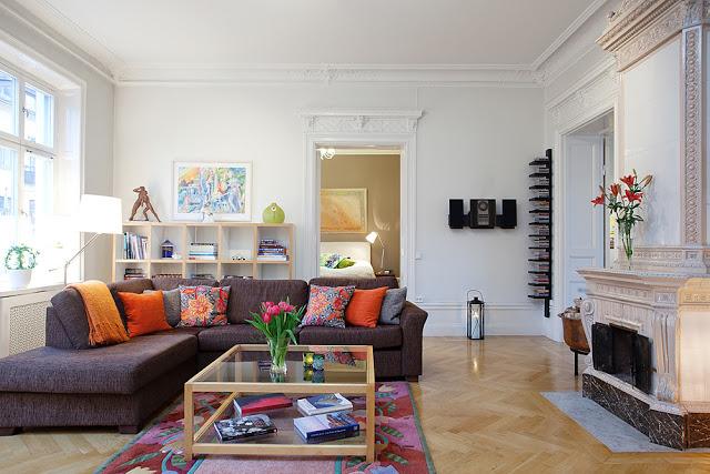 Decoración de salones con encanto clásicos