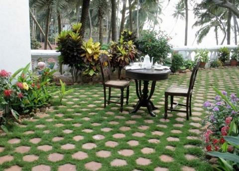 Ideas de decoraci n para jardines y terrazas decorar hogar - Ideas para jardines de casa ...