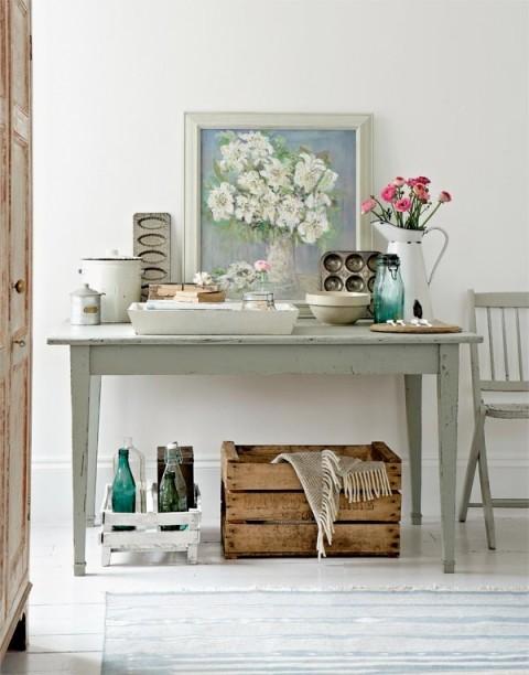 Inspiraci n vintage y rom ntico decorar hogar for Decoracion romantica vintage