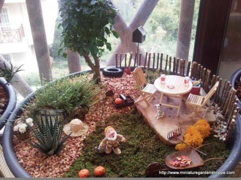 Jardines en miniatura increibles decorar hogar - Casitas en macetas ...