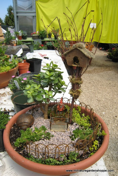 Jardines en miniatura increibles decorar hogar for Jardines de hogar