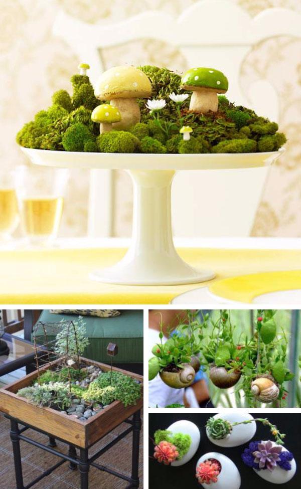 Ideas de Mini Jardines Caseros