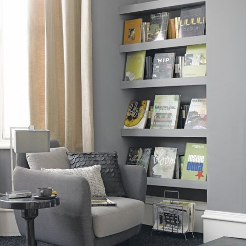 shelving ideas living room 20 ideas para colocar estanter 237 as en rincones decorar hogar 13993