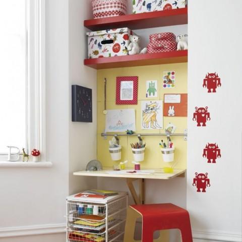 20 ideas para colocar estanter as en rincones decorar hogar - Estanterias para habitacion infantil ...