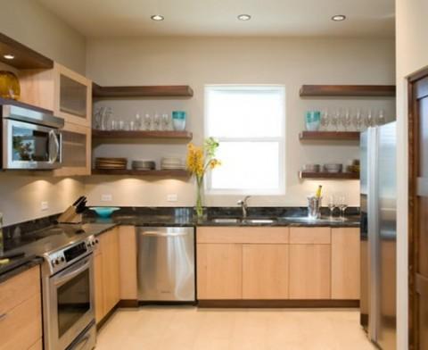 30 ideas de estanter as abiertas en la cocina decorar hogar - Estanterias de cocina ...