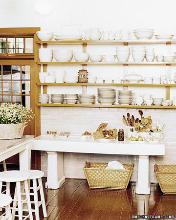 30 ideas de estanter as abiertas en la cocina decorar hogar for Estantes para cocina pequena