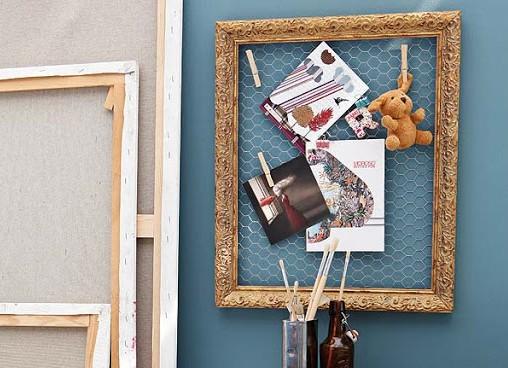 C mo decorar mi casa reciclando ideas y fotos - Enmarcar cuadros en casa ...