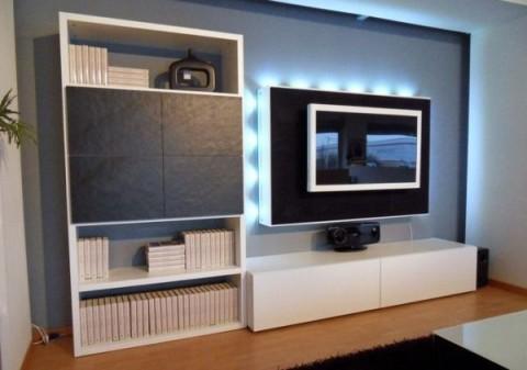 17 ideas para muebles de televisi n decorar hogar - Muebles de tele ...
