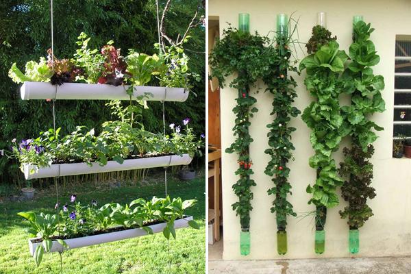 5 ideas de jardines verticales decorar hogar