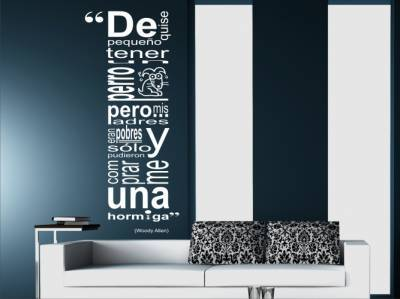 Vinilos adhesivos para decorar decorar hogar for Decoracion de interiores frases