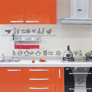 Azulejos decorativos para cocinas great forever azulev with azulejos decorativos para cocinas - Pegatinas para cocinas ...