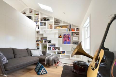 Peque o loft en londres decorar hogar for Decoracion de loft pequenos