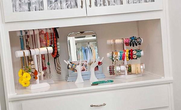12 ideas para guardar las joyas decorando - Decorar Hogar