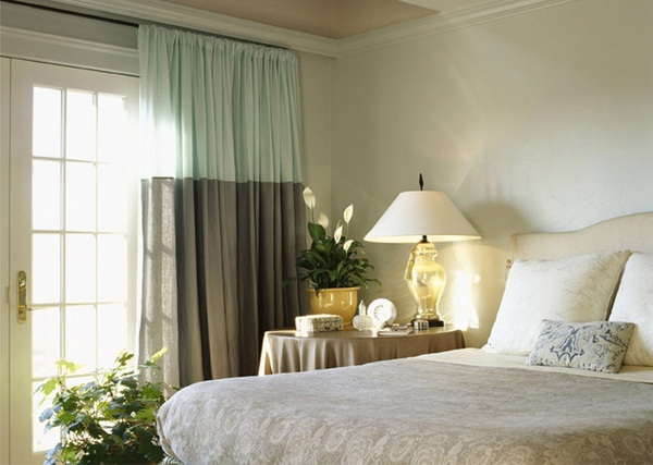 Dormitorio poco recargado para dormir bien