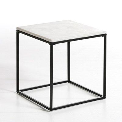 Mesilla auxiliar con forma de cubo