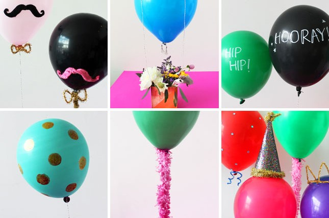 7 formas de decorar con globos Decorar Hogar