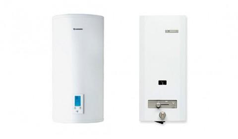 calentador electrico o calentador gas