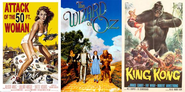 Carteles de películas antiguas