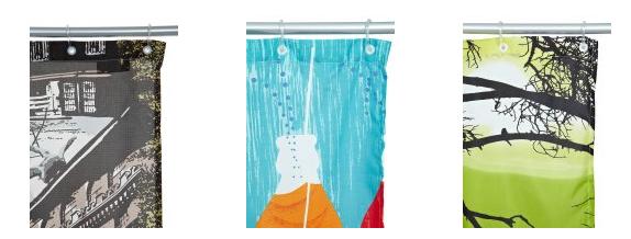 Cortinas de ducha bonitas