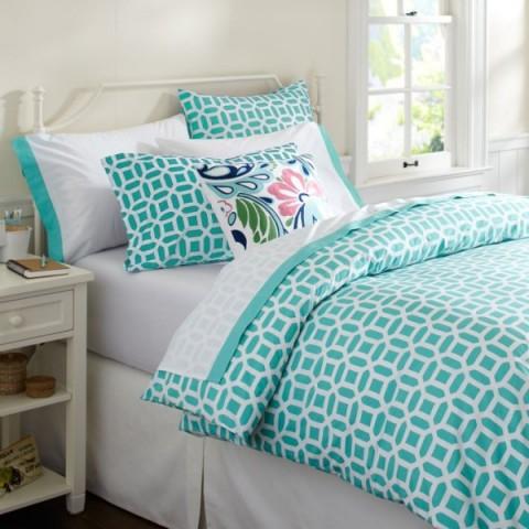 Habitaciones para chicas ideas y fotos decorar hogar for Dormitorios verde agua