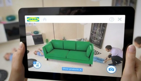 Ikea catálogo de realidad aumentada