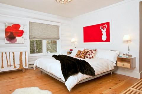 C mo decorar una habitaci n con paredes blancas decorar - Decoracion paredes blancas ...