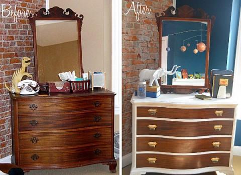 6 renovaciones de muebles con fotos de antes y despu s - Recuperar muebles viejos ...