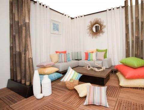 Cojines para el suelo modernos y con clase decorar hogar - Cojines para sentarse ...
