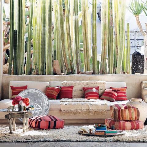 Cojines para el suelo modernos y con clase decorar hogar for Salas con cojines en el piso